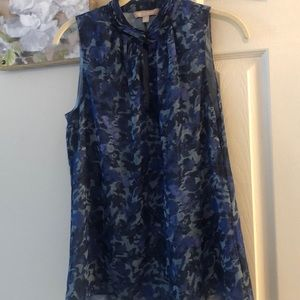 Banana Republic sleeveless blouse size 8